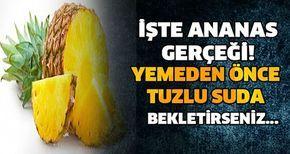 Ananas suyu ile yağlardan kurtulun!