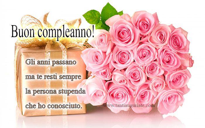 Cartoline di Compleanno con Fiori #compleanno #buon_compleanno #tanti_auguri