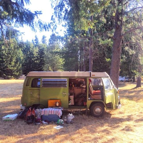 Les 25 meilleures id es concernant volkswagen camping cars for Interieur camping car