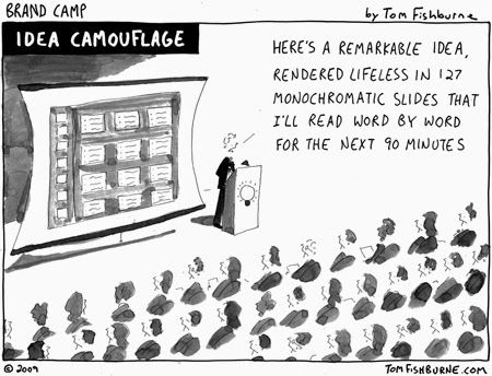 The Eloquent Woman: Using cartoons in presentations: How