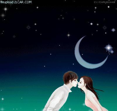 Gambar Kartun Animasi Korea Romantis Ciuman