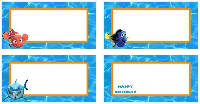 213 Best Images About Finding Nemo Printables On Pinterest