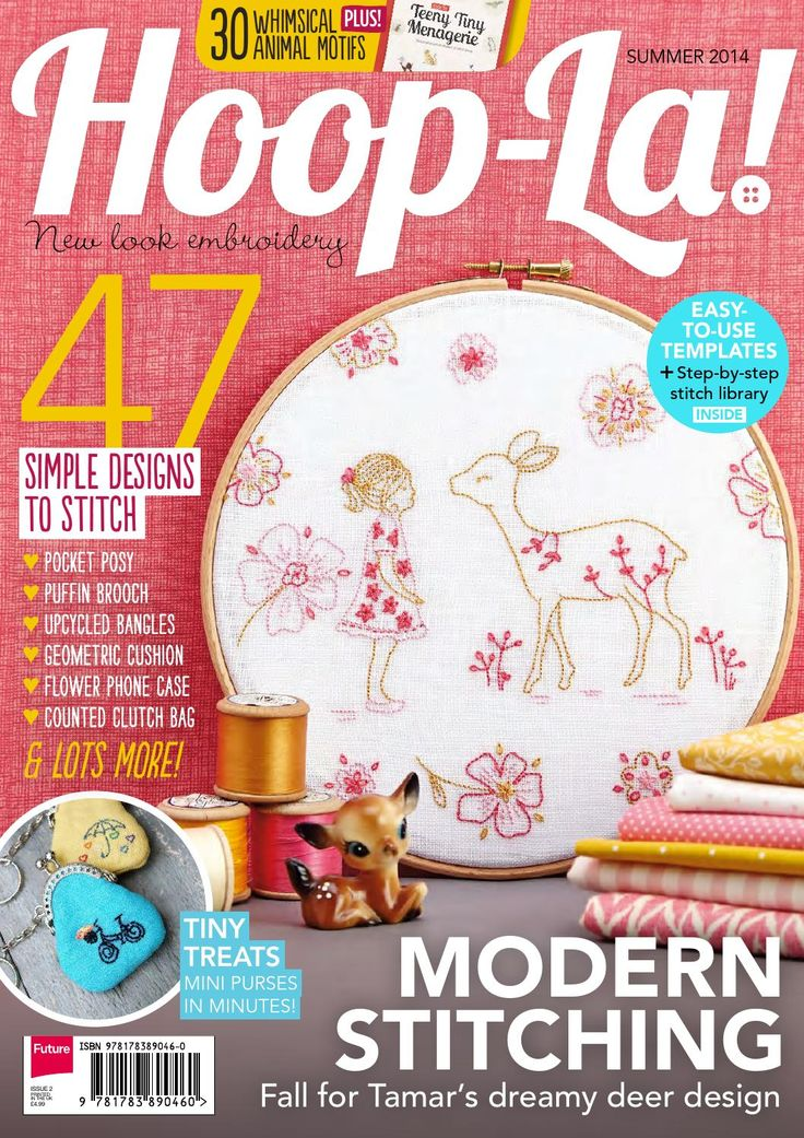 Hoop la new look embroidery issue exclusive preview of
