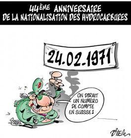 Caricature dilem du 26 février 2015 : Toute l'actualité sur liberte-algerie.com