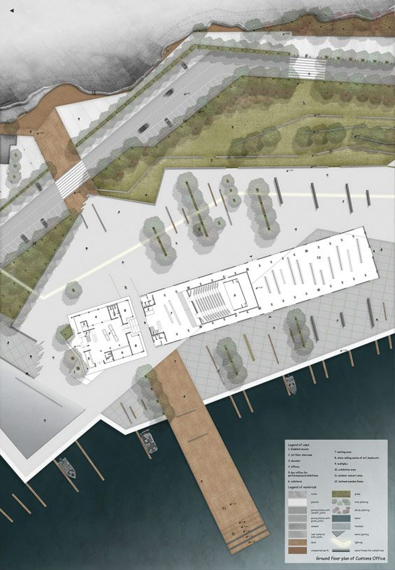 STUDENT PROJECT | Regeneration of the Customs Office area in Kavala | Elli Nikolaidou - World Landscape Architecture World Landscape Architecture