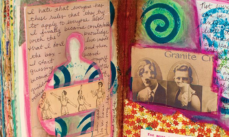 Visual Journaling with Artist in Residence Julie Guyot!