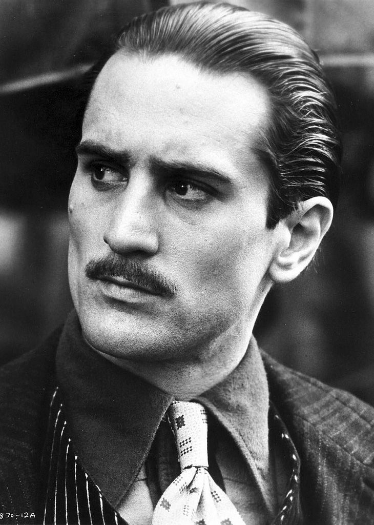 ♂Black and white photography man portrait Robert De Niro in The Godfather