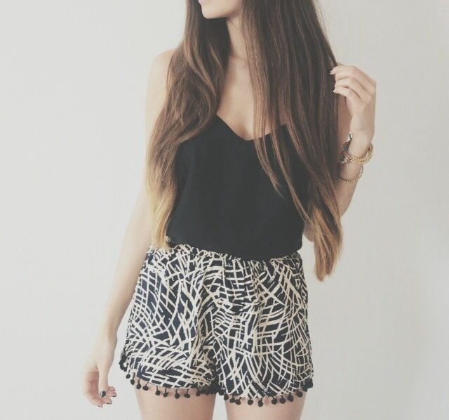 These flowy shorts