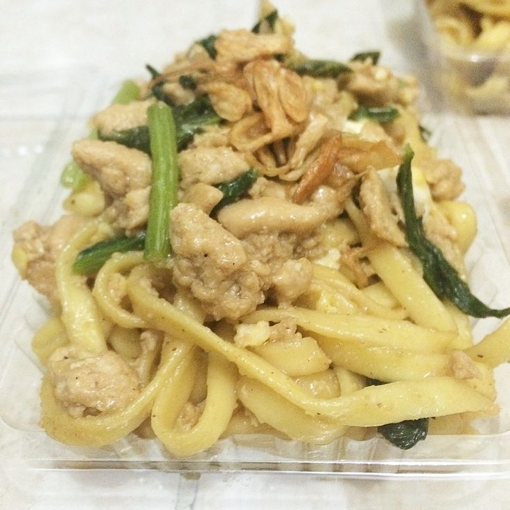 Mie Goreng Ayam #fried #noodles #chicken