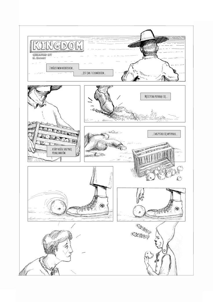 One page comic. Kingdom