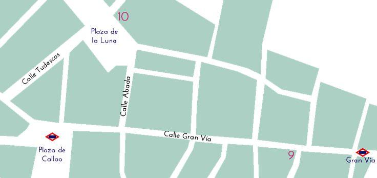 ¡Buenos días!     Lo prometí y aquí está: Mi guía de tiendas de telas por Madrid.   Las que siempre os recomiendo y está una al lado de la o...