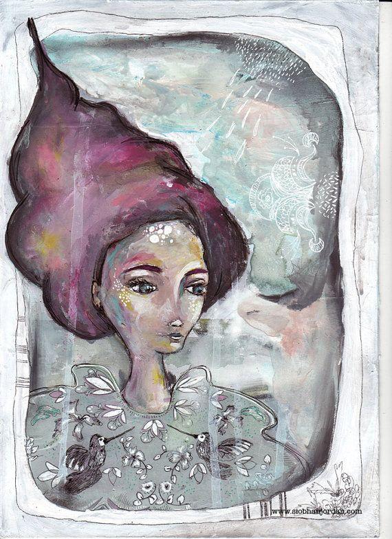 fine art print fairy tale art romantic magical by SiobhanJordan, €25.05