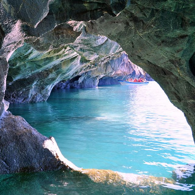 Marble Caverns, Patagonia, Chile