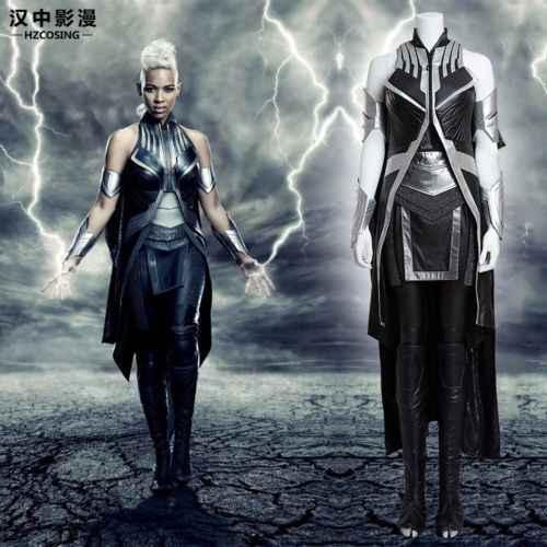HZYM-X-Men-Apocalypse-Storm-Cosplay-Costume-Deluxe-Leather-Outfit-Custom-Made