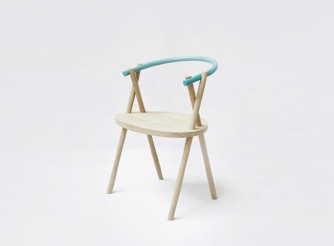 Stuck Chair by OATO Design office