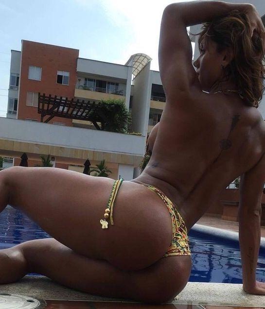 Sólo chicas atléticas Sonia Isaza Colombia Belleza