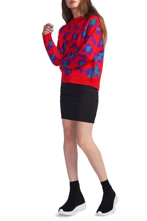 c6e85d898f5 Bitten Black + Lamade Lj32026-trina Skirt-blk + Blank Nyc Red ...