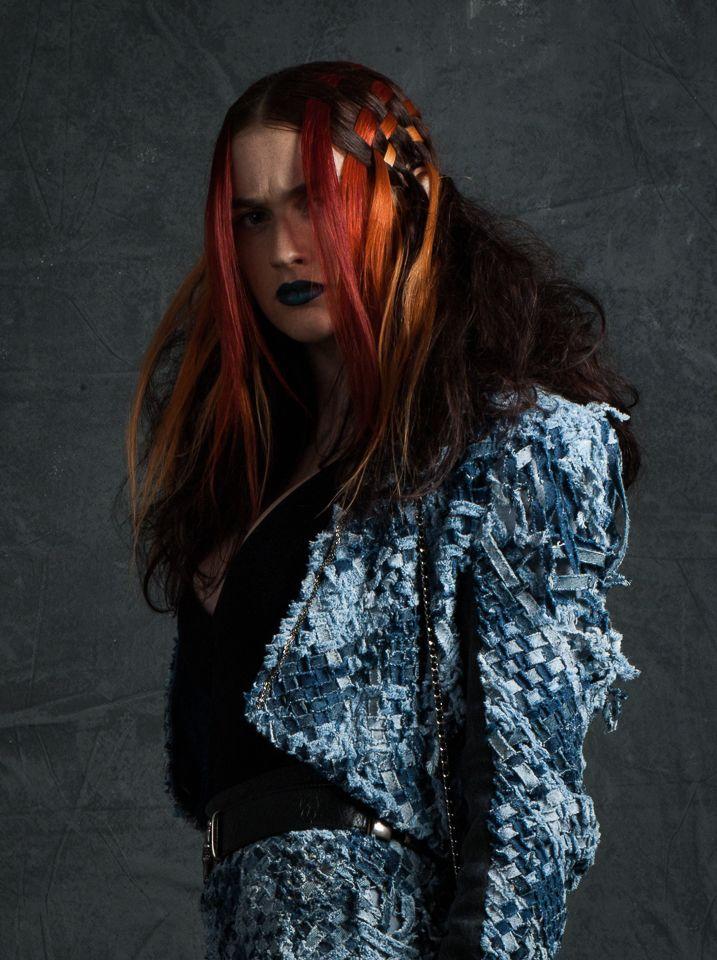 #model #beauty #makeup #hair #eco #fashion #ecofashion