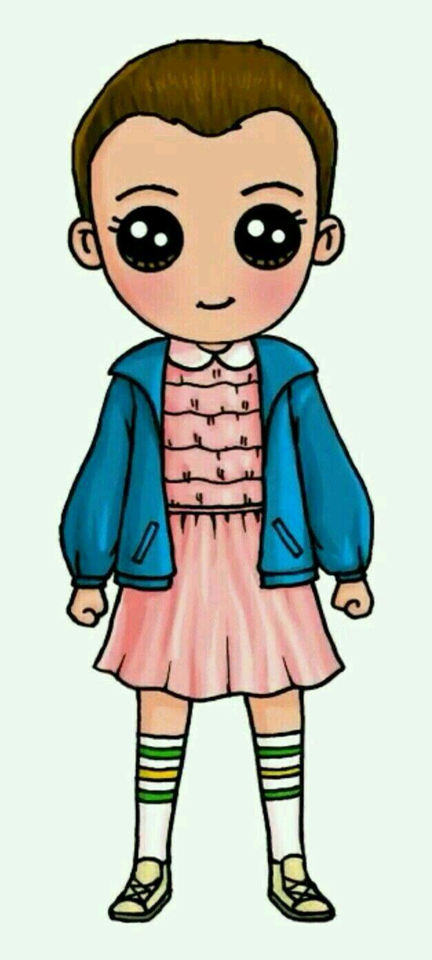 Eleven Cute Kawaii Girl Drawings Cute Kawaii Drawings Cute Drawings