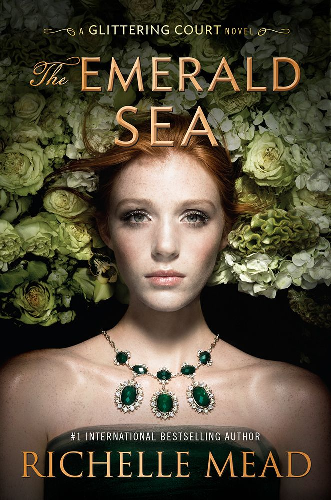 #CoverReveal The Emerald Sea (The Glittering Court, #3) by Richelle Mead