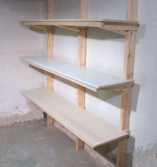 104 best garage wall mounted storage images on pinterest. Black Bedroom Furniture Sets. Home Design Ideas