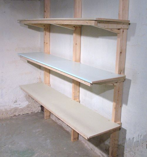 Basement Storage Shelves: Wall Mounted Storage Images On Pinterest