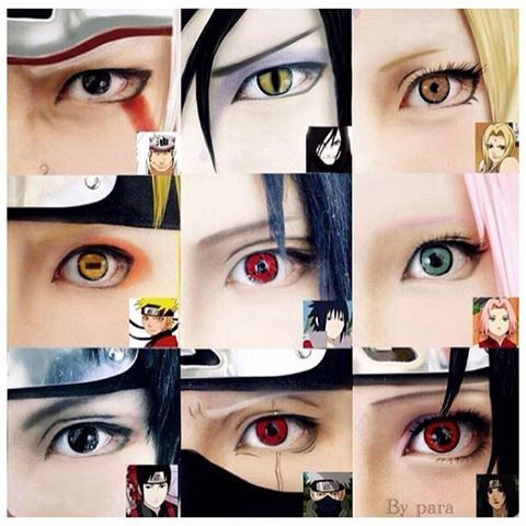 Naruto Eyes Cosplay                                                                                                                                                     More