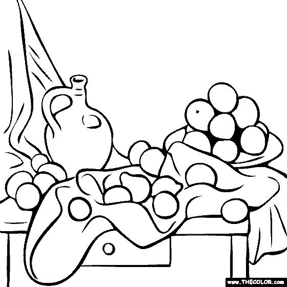 Awesome Painting Coloring Pages 94 free coloring page of