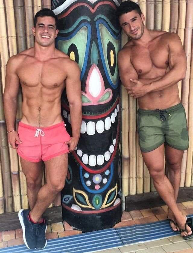 I'll take both of them | Beach studs | Pinterest | Sexy men, Shirtless men  and Beautiful men