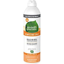 Seventh Generation Fresh Citrus Thyme Disinfectant Spray Spray