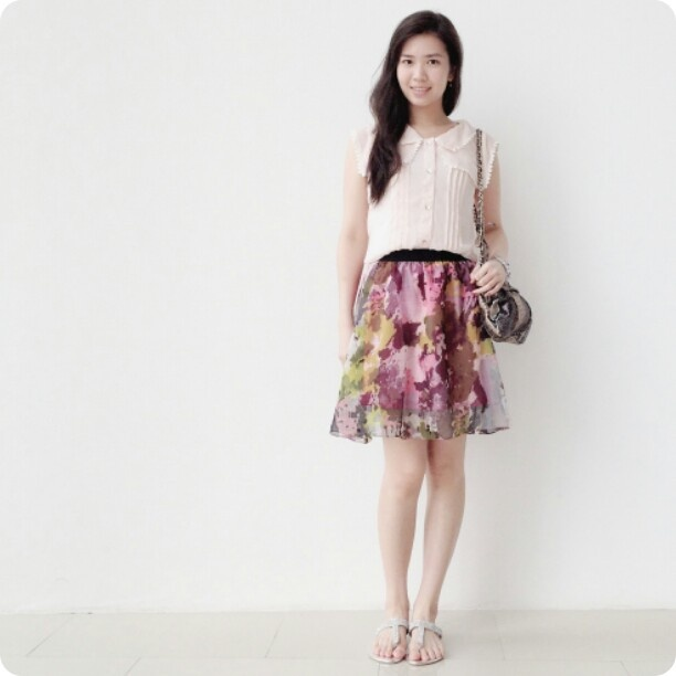 army pattern skirt