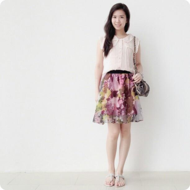 army pattern skirt