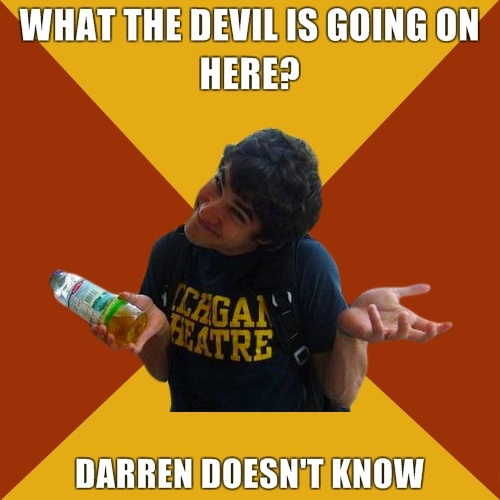 d5391b797df522936f0b56b7c8520a66 best memes darren criss 28 best darren doesn't know images on pinterest darren criss, best