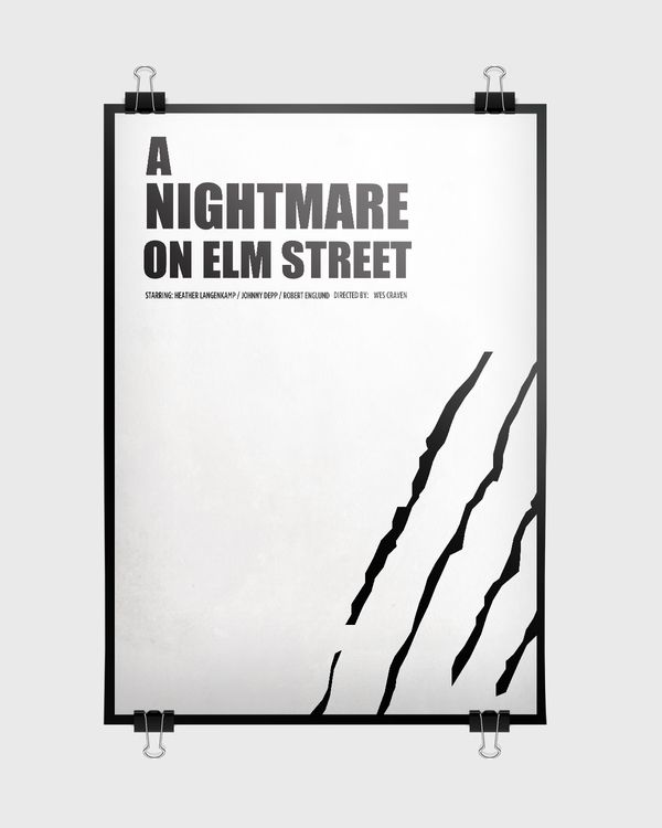 A Nightmare On Elm Street [Wes Craven, 1984] «Horror Movie Posters Author: Olivera Miletic»