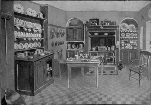 17 best images about edwardian kitchens on pinterest for Edwardian kitchen