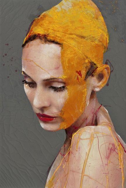 Lita Cabellut | Impulse 11 (2015) | Artsy