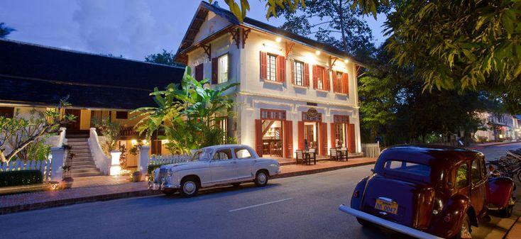 Luang Prabang Boutique Hotel | The 3 Nagas Hotel | Laos Hotel.   Also salalao.com