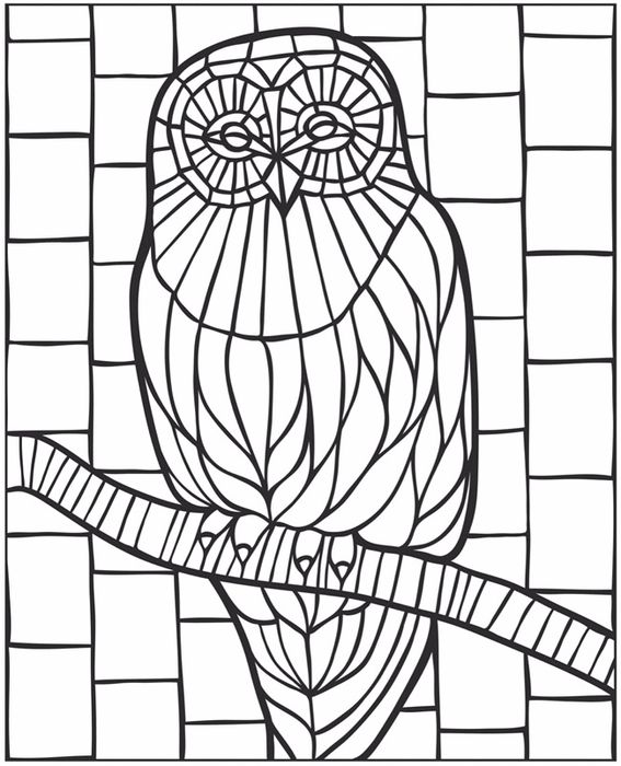 welcome to dover publications creative haven animal mosaics coloring book pinsperation - Mosaic Coloring Book