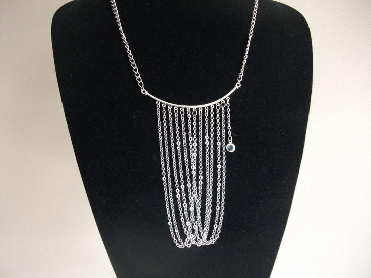 Chain cascade necklace de la boutique BijouxdeBrigitte sur Etsy
