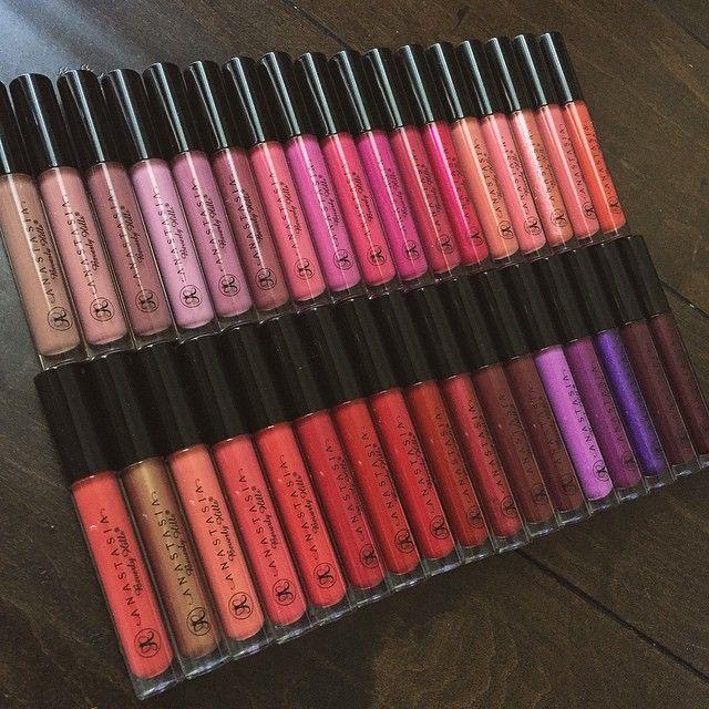 @anastasiabeverlyhills lip glosses