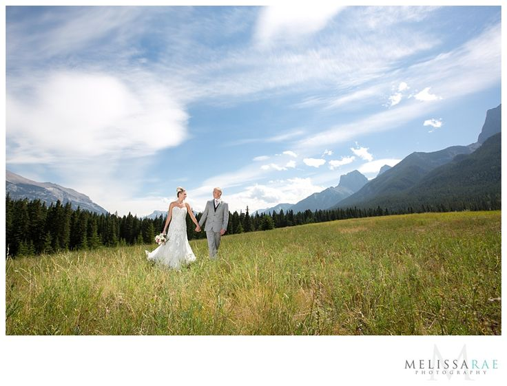 Quarry Park, Canmore, mountain wedding