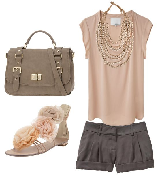 The BagShoes, Colors Combos, Fashion, Summer Looks, Summer Style, Clothing, Cute Summer Outfit, Summer Outfits, Shorts