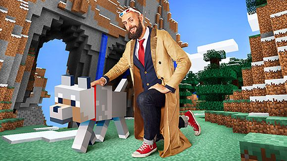 http://ift.tt/2tD05Qz learned of Kurt J Mac who holds the Guinness World Record for the longest journey in Minecraft.