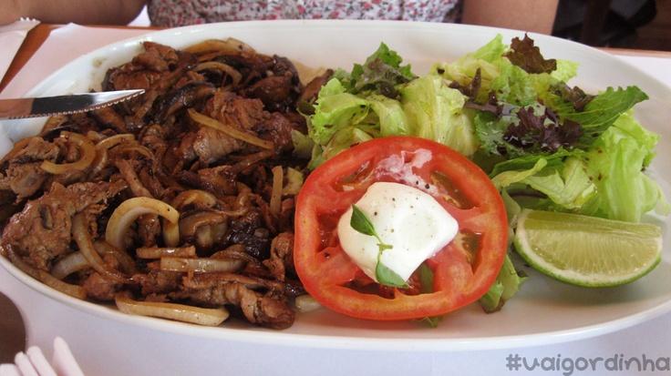 @Hamburgueria Nacional - sukiyaki salad