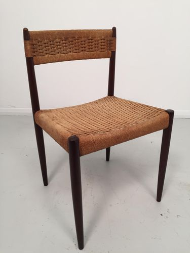 67c5d614e574 Vintage Danish Paper Cord Chairs, Set of 4 in 2019 | Furniture ...