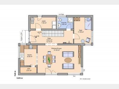 20 besten Einfamilienhaus Bilder auf Pinterest Hauspläne, Kleine - dieses moderne weise penthouse stockholm demonstriert luxus