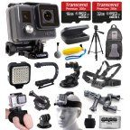 Buy GoPro HERO+ Camera Camcorder (CHDHC-101) with Extreme Accessories Bundle includes 32GB Card + Opteka X-Grip + LED Light + Case + Tripod + Selfie Stick + Car/Bike Mount + Solar Charger + More at Walmart.com