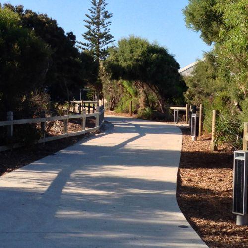 Bathers Beach walkways, Fremantle, WA