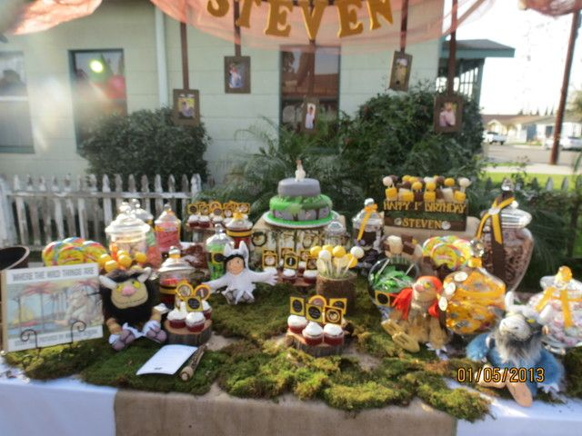 """Photo 12 of 18: Where the Wild Things Are / Birthday """"Steven's 1st Birthday"""" 