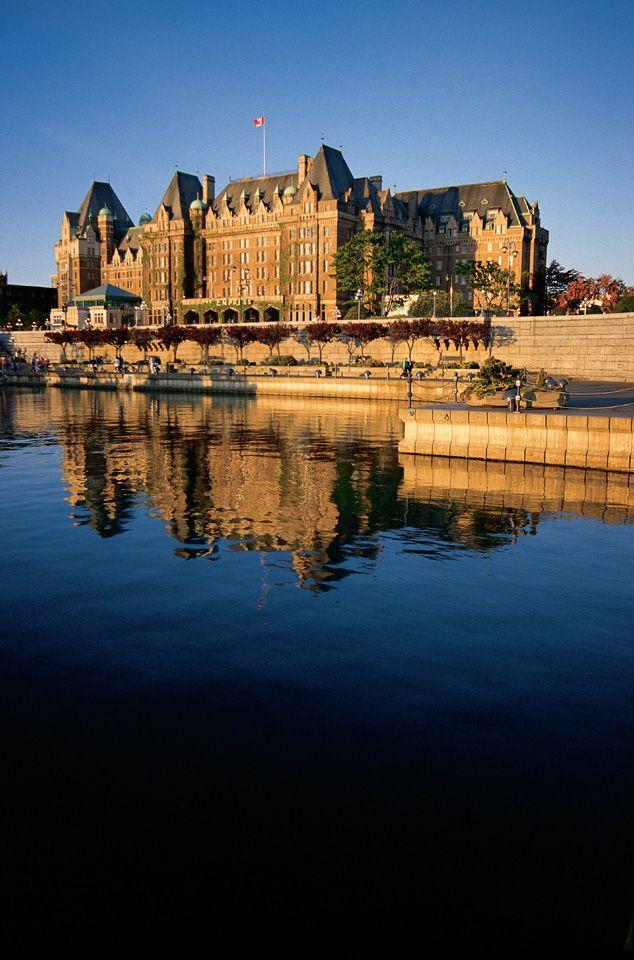 Canada's Fairmont Historic Railway Hotels: Empress Hotel, Victoria, BC